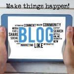 כתיבת בלוגים